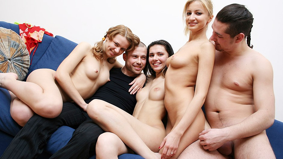 Hot orgy parties — photo 14