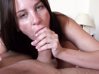 Waked up with a blowjob