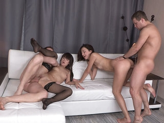 Teens fucking and swinging